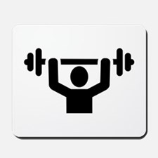 Weightlifting powerlifting Mousepad