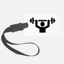 Weightlifting powerlifting Luggage Tag
