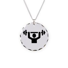 Weightlifting powerlifting Necklace