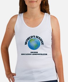 World's Sexiest Higher Education Administ Tank Top