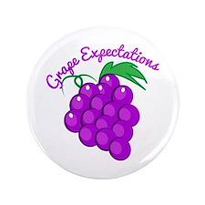 "Grape Expectations 3.5"" Button"