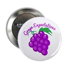 "Grape Expectations 2.25"" Button (10 pack)"