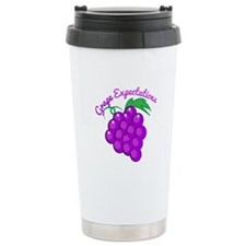 Grape Expectations Travel Mug