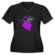 Grape Expectations Plus Size T-Shirt