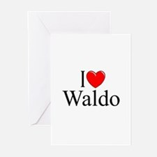 """I Love Waldo"" Greeting Cards (Pk of 10)"
