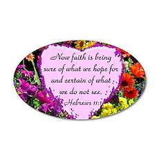 HEBREWS 11:1 Wall Decal