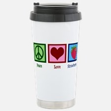 Peace Love Alpacas Stainless Steel Travel Mug
