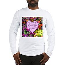 JOHN 8:12 Long Sleeve T-Shirt