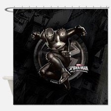 Web Warriors Agent Venom Shower Curtain