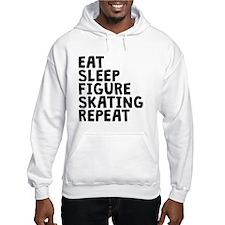 Eat Sleep Figure Skating Repeat Hoodie