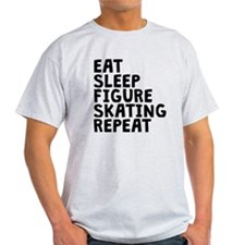 Eat Sleep Figure Skating Repeat T-Shirt