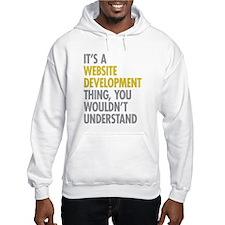 Website Development Thing Hoodie