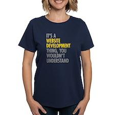 Website Development Thing Tee
