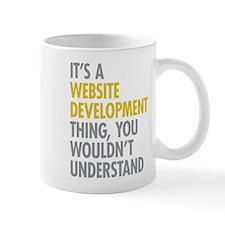 Website Development Thing Mug