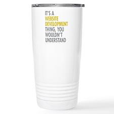 Website Development Thi Travel Mug