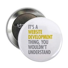"Website Development Thing 2.25"" Button"