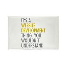 Website Development Th Rectangle Magnet (100 pack)