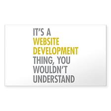 Website Development Thing Decal