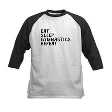 Eat Sleep Gymnastics Repeat Baseball Jersey