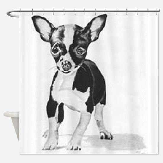 Chihuahua Shower Curtain