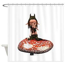 Shroom Shower Curtain