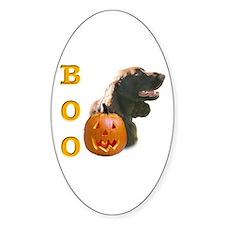 Field Spaniel Boo Oval Decal