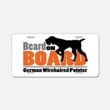 Beard on Board - GWP Aluminum License Plate