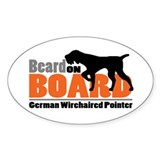 German wirehaired Stickers