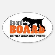 Beard on Board - GWP Sticker (Oval)