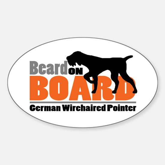 Beard on Board - GWP Sticker (Oval)