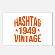 1949 Hashtag Vintage Postcards (Package of 8)