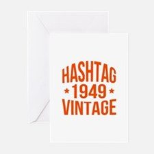 1949 Hashtag Vintage Greeting Cards (Pk of 20)