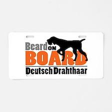 Beard on Board - DD Aluminum License Plate
