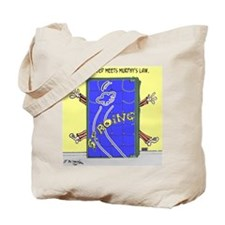 Murphy's Law Cartoon 2342 Tote Bag
