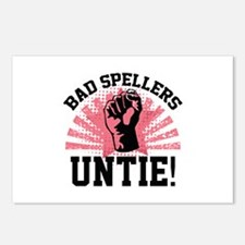 Bad Spellers Untie! Postcards (Package of 8)
