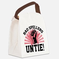 Bad Spellers Untie! Canvas Lunch Bag