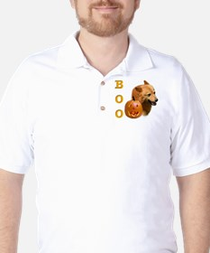 Finnish Spitz Boo Golf Shirt