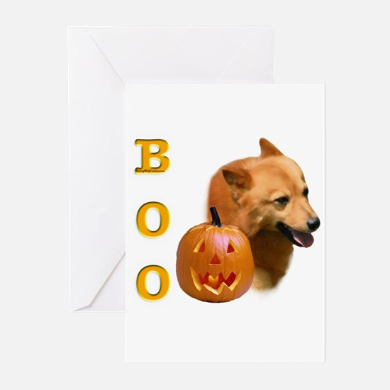 Finnish Spitz Boo Greeting Cards (Pk of 10)