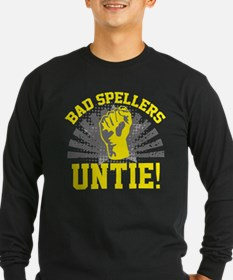 Bad Spellers Untie! T