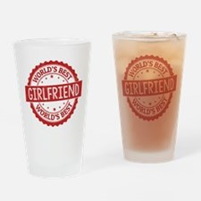 World's Best Girlfriend Drinking Glass