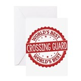 Crossing guard Greeting Cards