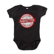 World's Best Babysitter Baby Bodysuit