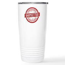World's Best Babysitter Travel Coffee Mug