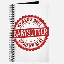 World's Best Babysitter Journal