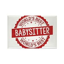 World's Best Babysitter Magnets