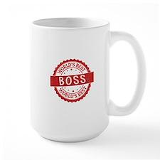 World's Best Boss Mugs