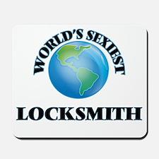 World's Sexiest Locksmith Mousepad