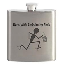 Mortuary Humor Flask