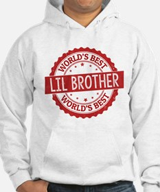 World's Best Lil Brother Hoodie