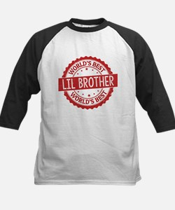 World's Best Lil Brother Baseball Jersey